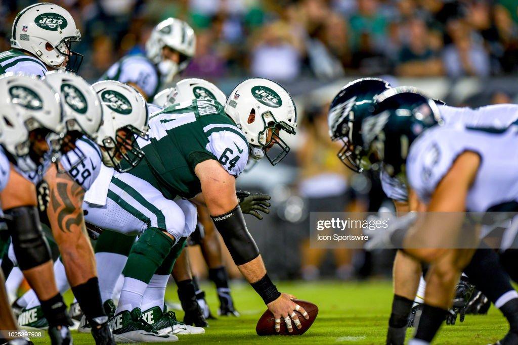 NFL: AUG 30 Preseason - Jets at Eagles : News Photo