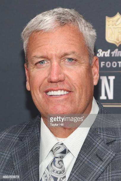 New York Jets coach Rex Ryan attends the 3rd Annual NFL Honors at Radio City Music Hall on February 1 2014 in New York City