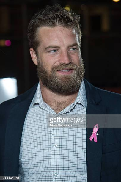 New York Jets Quarterback Ryan Fitzpatrick attends The Pink Agenda 2016 Gala at Three Sixty on October 13 2016 in New York City