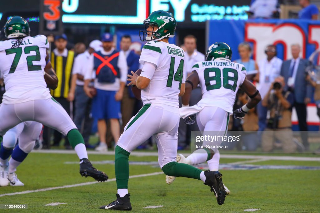 NFL: AUG 08 Preseason - Jets at Giants : News Photo