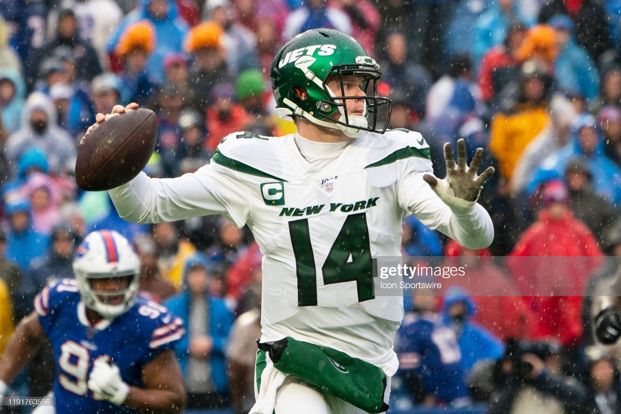 NFL: DEC 29 Jets at Bills : Foto jornalística