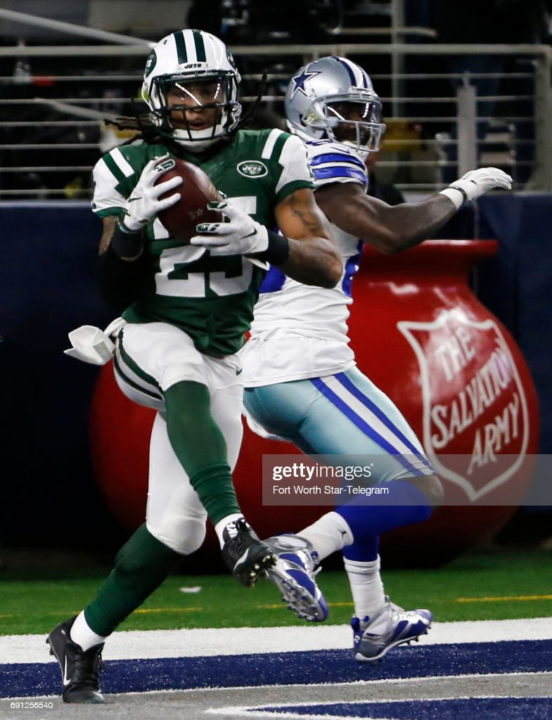 New York Jets Strong Safety Calvin Pryor Intercepts A Kellen