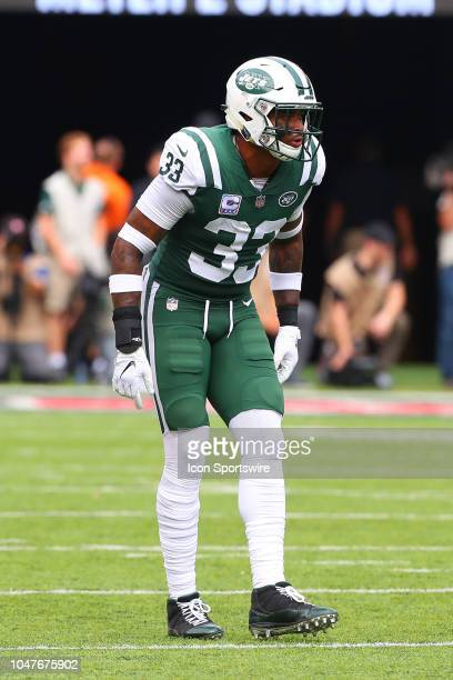 New York Jets strong safety Jamal Adams during the National Football League game between the New York Jets and the Denver Broncos on October 7 2018...