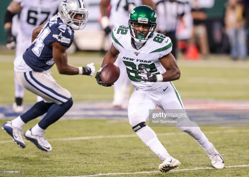 NFL: OCT 13 Cowboys at Jets : News Photo