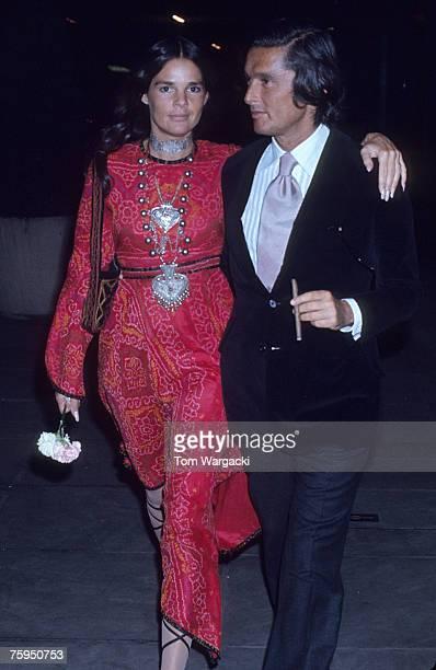 New York June 5th 1970 Ali McGraw and Bob Evans at '21' Club Manhattan
