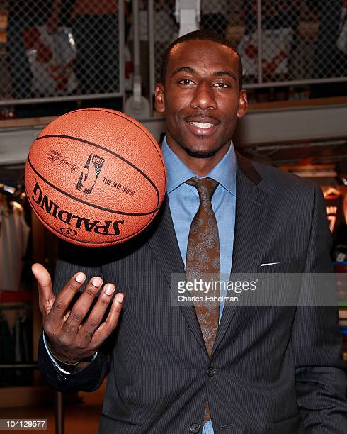 3219ef30d New York Knicks Forward Amar e Stoudemire visits the NBA Store on September  15 2010