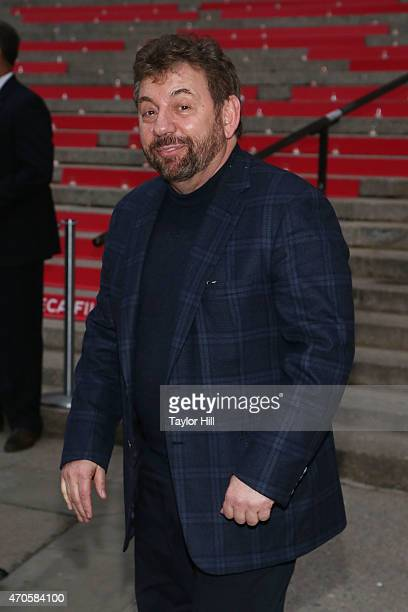 New York Knicks owner Jim Doland attends the 2015 Tribeca Film Festival Vanity Fair Party at the New York Supreme Court on April 14 2015 in New York...