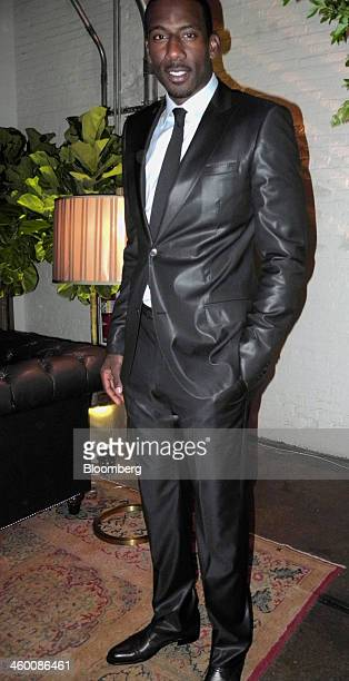 New York Knicks player Amar'e Stoudemire attends the Whitney Art Party in New York US on Tuesday May 24 2011The party began just hours after the...