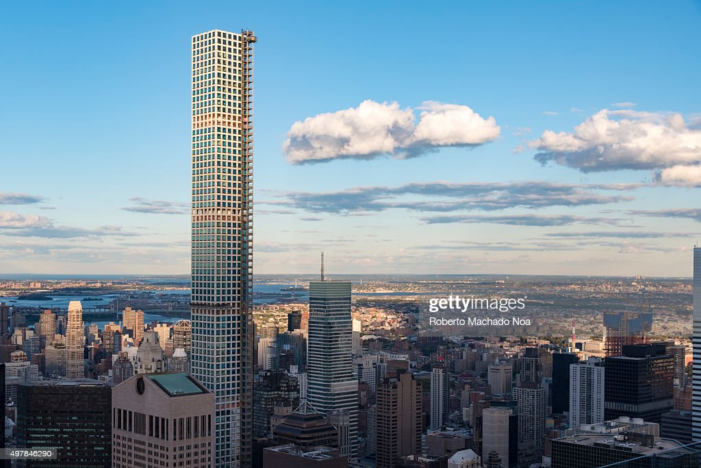 432 park avenue building highlighting the new york city skyline with photo d 39 actualit. Black Bedroom Furniture Sets. Home Design Ideas
