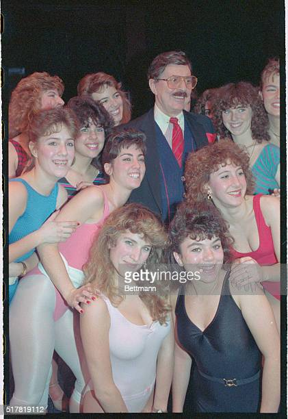 Legendary showman David Merrick reauditions young dancers for his 1990 company of 42nd Street February 4th When Merrick's smash musical was still in...