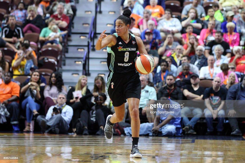 WNBA: AUG 18 New York Liberty at Connecticut Sun : Photo d'actualité