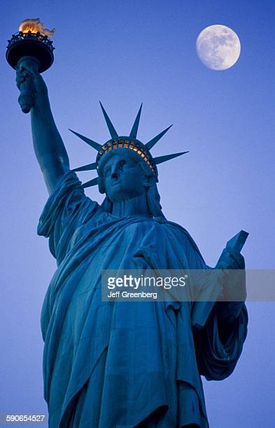 New York Liberty Island Statue Of Liberty National Monument Designed By Frederick Bartholdi 1884