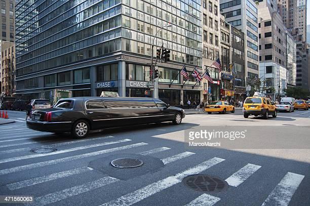 ニューヨークの交通のリムジン