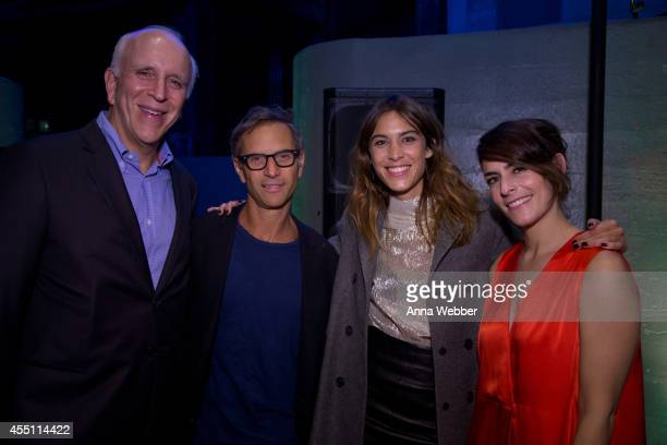 New York Magazine Publisher Larry Burstein EditorInChief Adam Mosss Model Alexa Chung and Director Stella Bugbee arrive to New York Magazine The Cut...