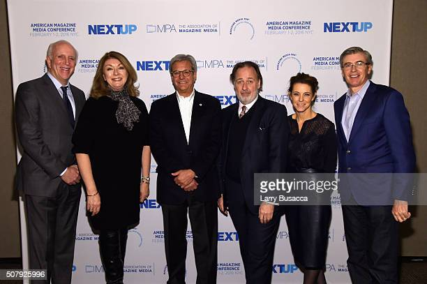 New York Magazine Publisher Larry Burstein President of Dwell Media Michela O'Connor Abrams President and CEO of Forbes Media LLC Michael Perlis...