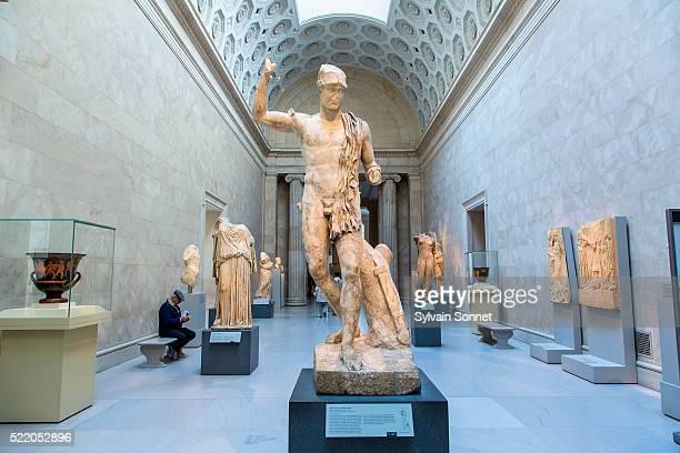 new york, main, metropolitan museum of art - met art gallery photos et images de collection