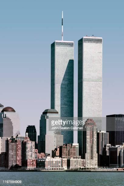 usa, new york, manhattan island - world trade center manhattan stock pictures, royalty-free photos & images