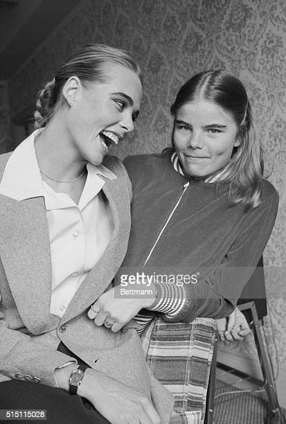 Margaux and Mariel Hemingway visit New York recently to promote Lipstick a film in which they make their screen debuts Mariel who got good notices...