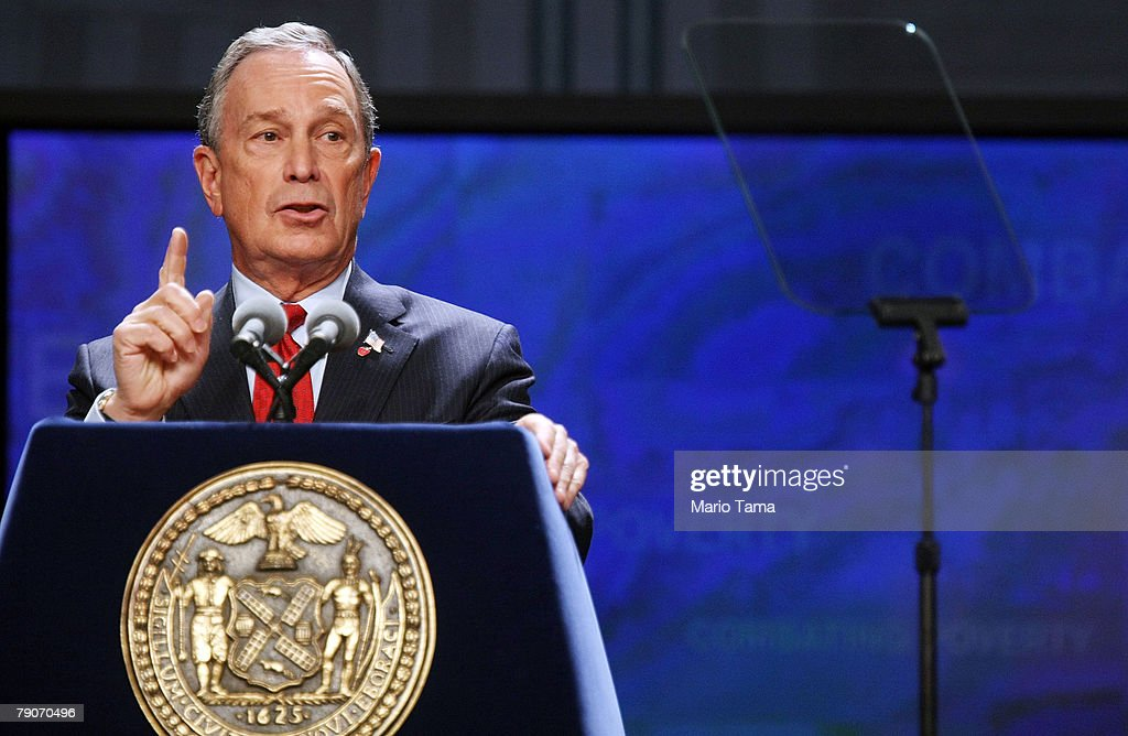 Mayor Bloomberg Delivers State Of The City Address : News Photo