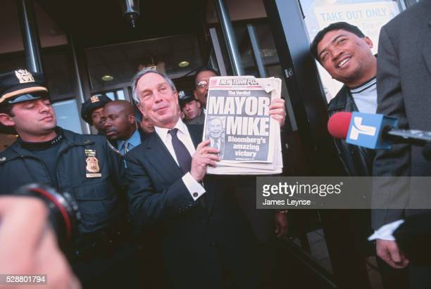 new york mayor mike bloomberg the day after election - mayor stock pictures, royalty-free photos & images