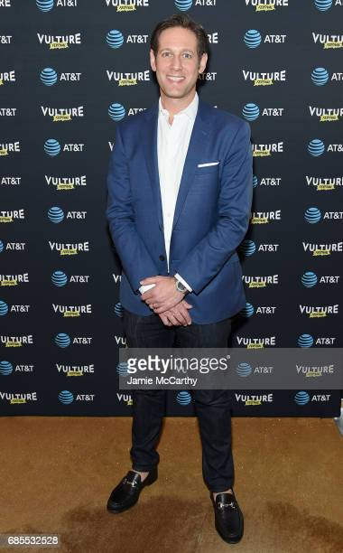 New York Media CRO and Publisher Avi Zimak attends the Vulture Festival Opening Night Party Presented By ATT at the Top of The Standard Hotel on May...