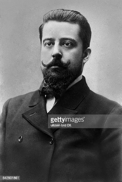 New York, Metropolitan Opera - Director Giulio Gatti-Casazza - 1908 - picture taken by Adolfo Croce