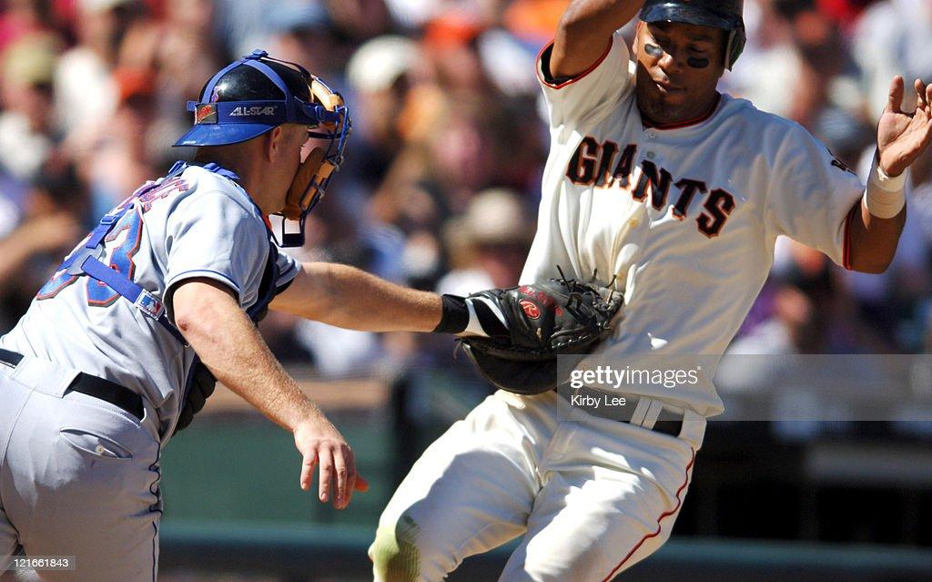 New York Mets vs San Francisco Giants - August 27, 2005