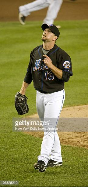 New York Mets' closing pitcher Billy Wagner after 6-3 win against the Philadelphia Phillies at Shea Stadium.