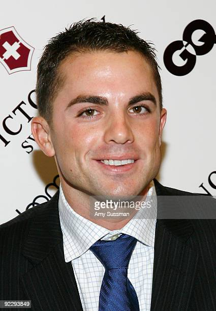 New York Mets David Wright attends the GQ Victorinox Swiss Army Style Without Boundaries event at Bloomingdale's 59th Street Store on October 22 2009...