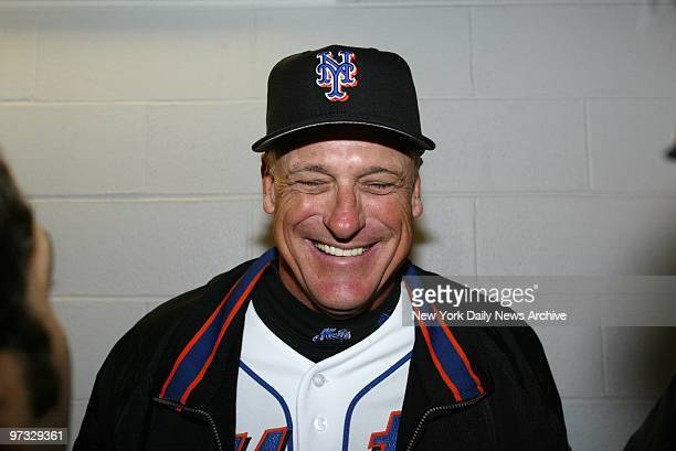 New York Mets' manager Art Howe is all smiles at KeySpan Park, home of the Brooklyn Cyclones in Coney Island. The Mets were on hand for a workout on...