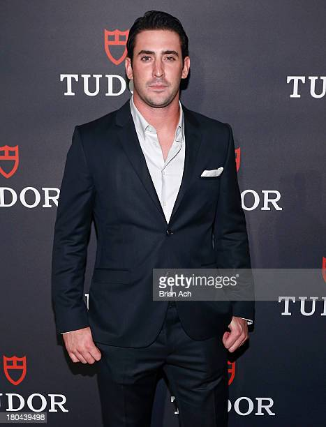 New York Mets pitcher Matt Harvey is seen at the Tudor Watch US Launch Event on September 12 2013 in New York City