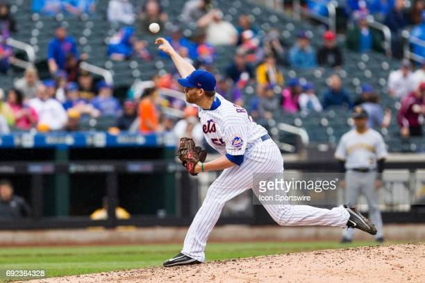 New York Mets Pitcher Neil Ramirez comes on in relief in the eight inning a regular season MLB game between the Pittsburgh Pirates and the New York...