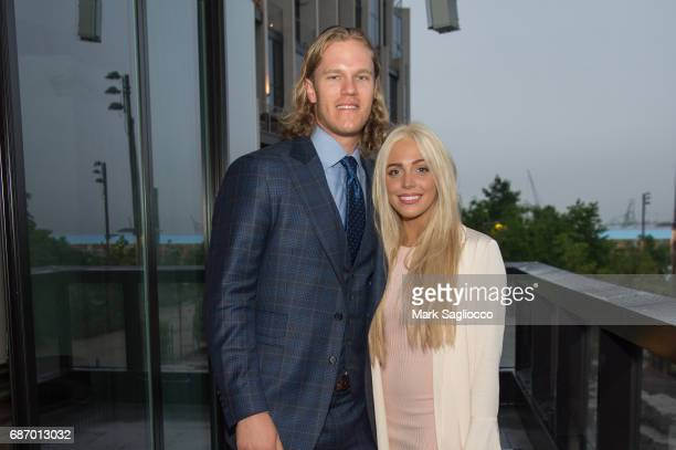New York Mets Pitcher Noah Syndergaard and Alexandra Cooper attend Gotham Magazine's Celebration of it's Late Spring Issue with Noah Syndergaard at 1...