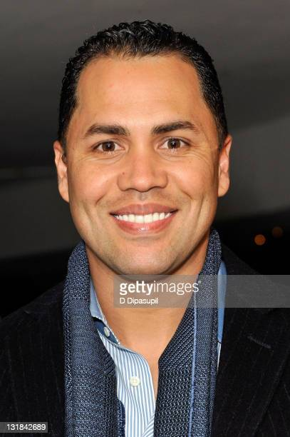 New York Mets player and Sofrito coowner Carlos Beltran at Sofrito on December 14 2010 in New York City