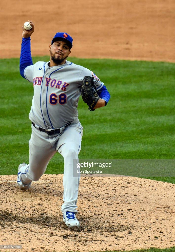MLB: SEP 27 Mets at Nationals : ニュース写真