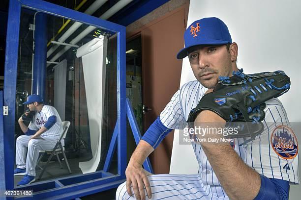 New York Mets starting pitcher Matt Harvey Howard Simmons/NY Daily News via Getty Images