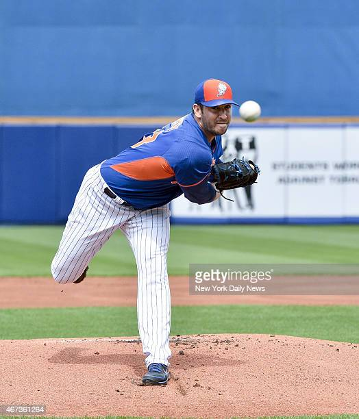 New York Mets starting pitcher Matt Harvey start his 1st game since injury