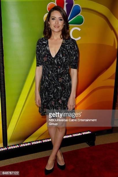 New York Midseason Press Day March 2017 Pictured Megan Boone The Blacklist on NBC