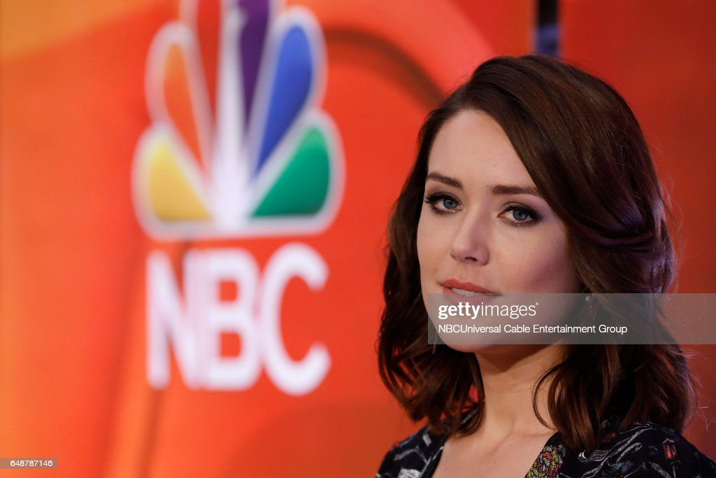 New York Midseason Press Day, March 2017 -- Pictured: Megan Boone 'The Blacklist' on NBC --
