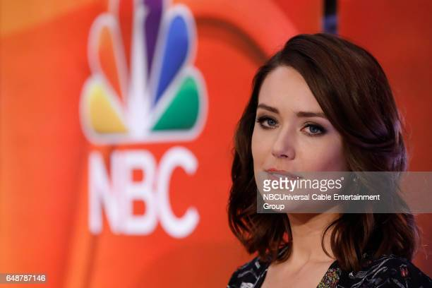 New York Midseason Press Day March 2017 Pictured Megan Boone 'The Blacklist' on NBC
