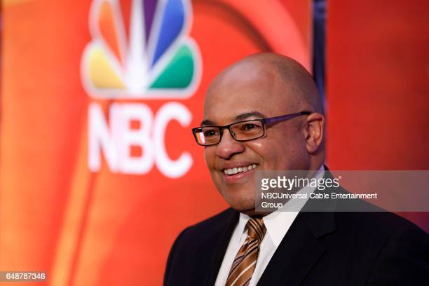 New York Midseason Press Day March 2017 Pictured Mike Tirico Golf/Olympics on NBC Sports