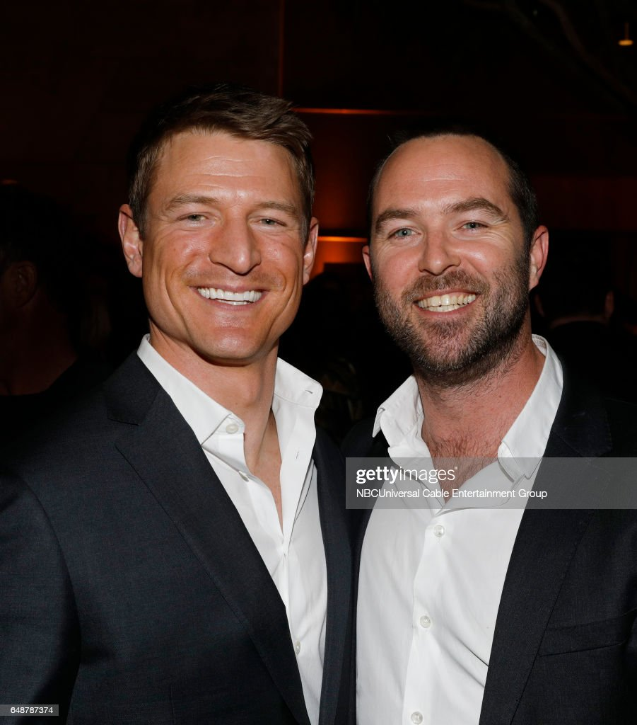 New York Midseason Press Day, March 2017 -- Pictured: (l-r) Philip Winchester 'Chicago Justice' on NBC, Sullivan Stapleton 'Blindspot' on NBC --