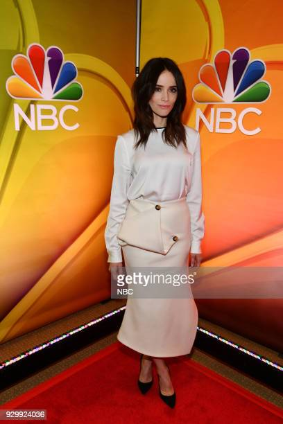EVENTS NBC New York Midseason Press Day Pictured Abigail Spencer from Timeless on NBC