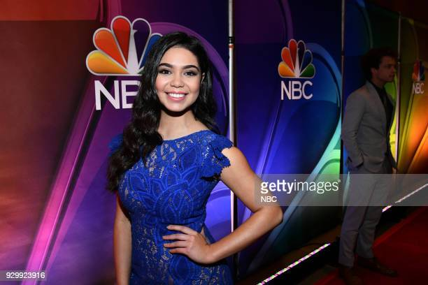 EVENTS 'NBC New York Midseason Press Day' Pictured Auli'i Carvalho from 'Rise' on NBC