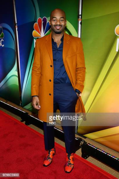 EVENTS NBC New York Midseason Press Day Pictured Brandon Victor Dixon from Jesus Christ Superstar Live in Concert on NBC