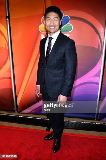 EVENTS 'NBC New York Midseason Press Day' Pictured Brian Tee from 'Chicago Med' on NBC