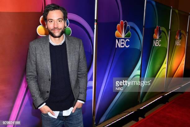 EVENTS NBC New York Midseason Press Day Pictured Josh Radnor from Rise on NBC