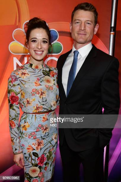 EVENTS 'NBC New York Midseason Press Day' Pictured Marina Squerciati from 'Chicago PD' on NBC Philip Winchester from 'Law Order Special Victims Unit'...