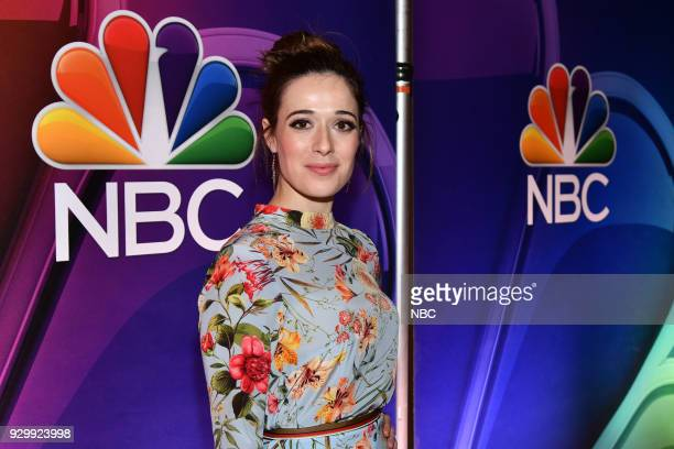EVENTS 'NBC New York Midseason Press Day' Pictured Marina Squerciati from 'Chicago PD' on NBC