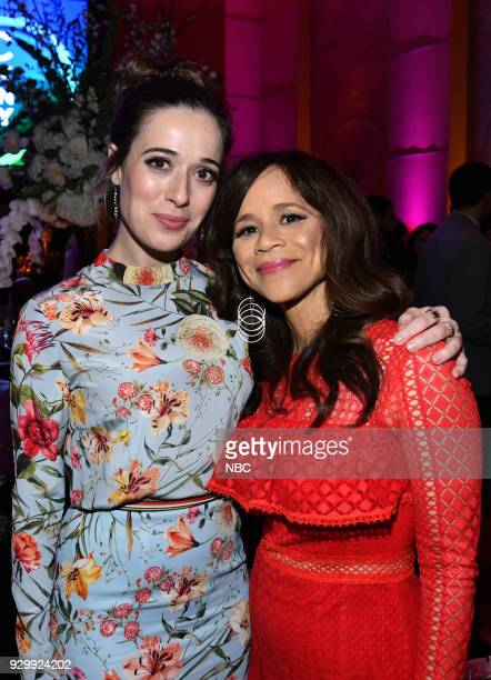 EVENTS 'NBC New York Midseason Press Day' Pictured Marina Squerciati from 'Chicago PD' on NBC Rosie Perez from 'Rise' on NBC